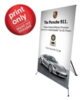 "Banner for PDE12 48"" x 78"" Replacement Graphic"