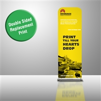 Double Sided Fabric Print for PWT424 2ft - Replacement Print