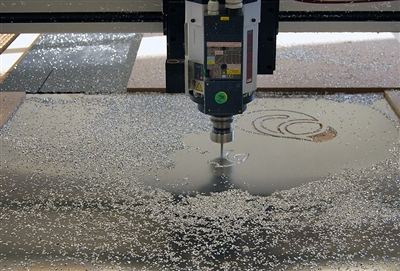 Aluminum Composite Panel CNC Router Cutting