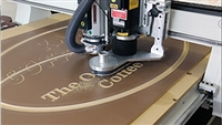 Customize CNC Router Cutting and Engraving with your Supplied Material
