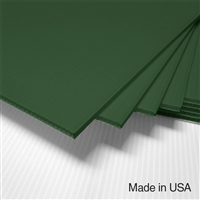 IntePro Corrugated Plastic - Green