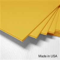 IntePro Corrugated Plastic - Yellow
