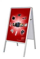 A-Frame Double-Sided Sidewalk Poster Sign - Poster Sign Only