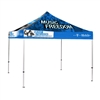 10 ft Pop Up Canopy Tent With Print