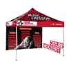 10 ft Pop Up Canopy Tent Back Wall & 1x Sidewalls With Print