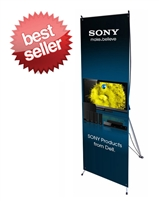 "Small X Banner Stand 24"" x 63"" - Stand Only"