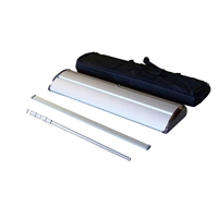 "Premium Retractable Roll Up Banner Stand 33"" - Stand Only [BOX SET OF 4]"