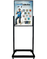 heavy duty poster sign holder floor stand 22