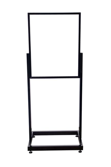 heavy duty poster sign holder floor stand 22 x 28. Black Bedroom Furniture Sets. Home Design Ideas