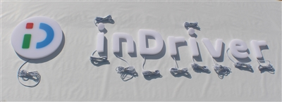 "Full Lit 3D Acrylic Letters for Indoor & Outdoor Signage - 82""W X 18""H"