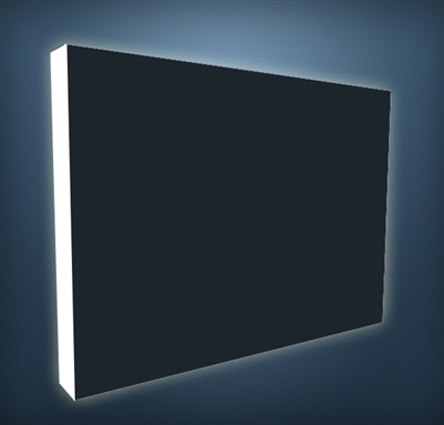 Illuminated 10 ft Pop Up Display - Blockout Back