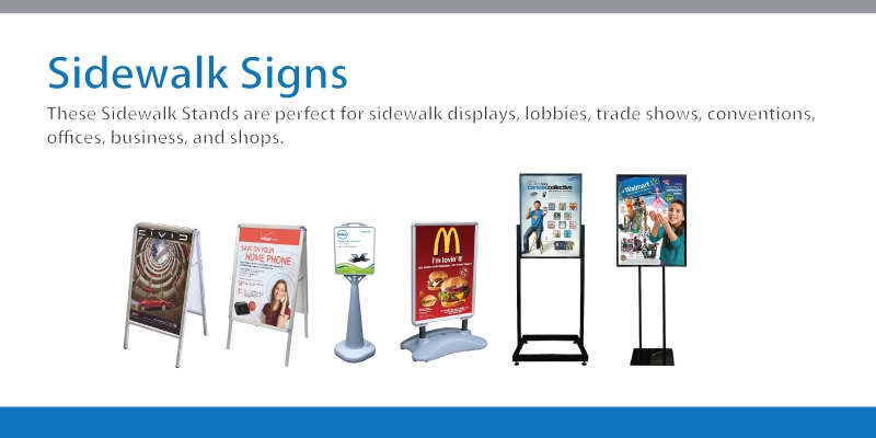Sidewalk Signs, A Frame Sign, Sandwich Boards - Signworld America