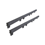ALEKO® 6.5Ft SET Nylon Gear Rack Fiber-Glass Reinforced With Metal Insert 3.3 Ft each, 2pcs