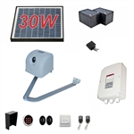 Articulated Gate Opener for Single Swing Gates - AA350 - Solar Kit 30W - ALEKO