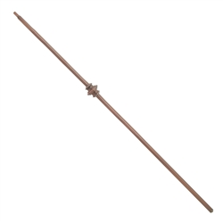 ALEKO BSTR010B Single Knuckle Design 44 Inch Spindles Oil Rubbed Bronze Baluster, Pack of 10
