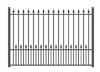 ALEKO® Munich Steel Fence 8' X 5'