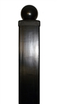 "Post for Driveway Iron Gates 8' x 3.5"" x 3.5"""