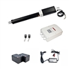 Single Swing Gate Operator - GG450 AC/DC - Back-up Kit ACC2 - ALEKO