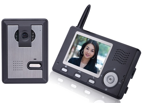Aleko Lm162 Wireless Video Door Phone Intercom System With 35