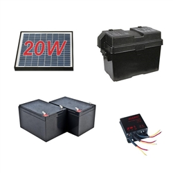 ALEKO® 20 Watt Solar Kit for Aleko Gate Openers