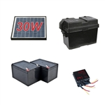 ALEKO® 30 Watt Solar Kit for Aleko Gate Openers