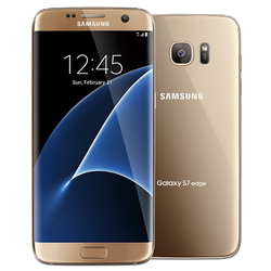 GSM Samsung G935a 32GB Galaxy S7 Edge Gold