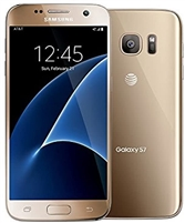 Bad Accelerometer GSM Samsung G930a 32GB Galaxy S7 Gold
