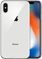 Face ID Apple iPhone X 64GB Silver