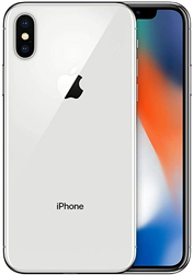 Apple iPhone X 64gb Silver B-Stock
