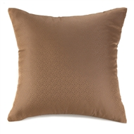 Chestnut Brown Large Throw Pillow