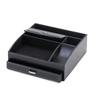 Black Desk-top Organizer Black