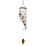 "Hummingbird Flutter Windchime 32"" Long"