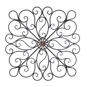 Curling Waves Scrollwork Wall Decor