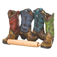 Western Cowboy Boots Toilet Paper Holder