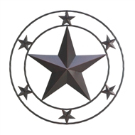 Texas Western Star Wall Decor