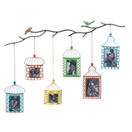 Birds on Branch Photo Frame Wall Decor