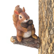 Gathering Squirrel Figurine Tree Decor