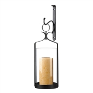 Hurricane Lantern Candle Wall Sconce