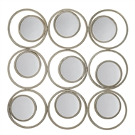 Revolution Designer Circles & Rounds Wall Mirror