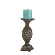 Small Pineapple Pillar Candle Holder