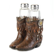 Cowboy Boots Salt & Pepper Set