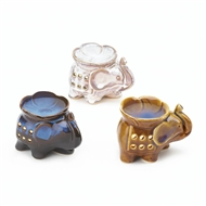 Trumpeting Elephant Fragrance Oil Warmer Set of 3