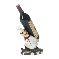 Italian Chef Back Wine Bottle Holder