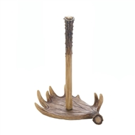 Moose Antler Upright Paper Towel Holder