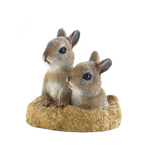 Peek-A-Boo Bunnies Garden Decor