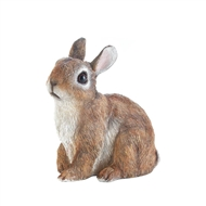 Sitting Bunny Statue Garden Decor