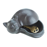 Kitty Cat Cast Iron Key Hider