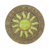 Radiant Sun Glowing Stepping Stone