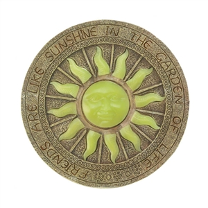 Bursting Sun Glow In Dark Stepping Stone