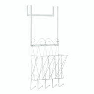 Over The Door Basket Hook Rack
